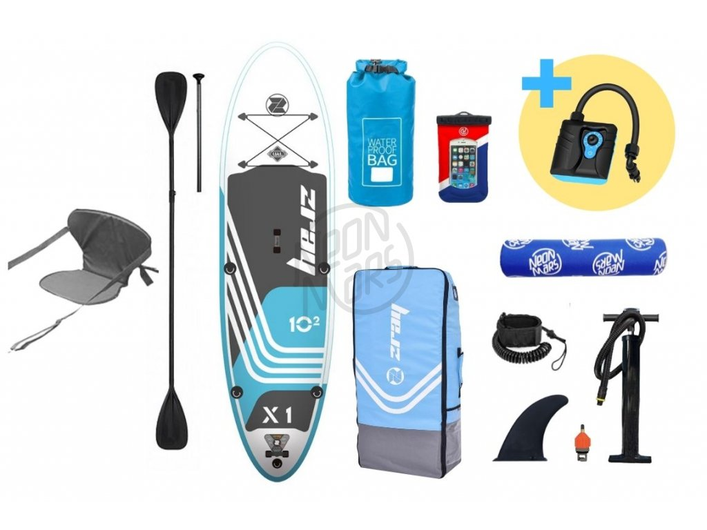 paddleboard z ray x1 deluxe 10,2 produkt 1