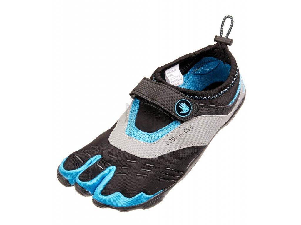 Neoprenove topanky Body glove 3T Max Blue yellow Women