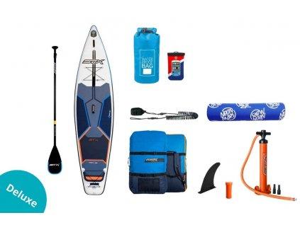 SUP STX Tourer 11 6 Blue Orange komplet