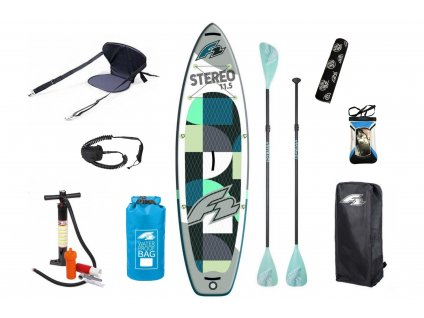 paddleboard f2 stereo 11 5 family combo set
