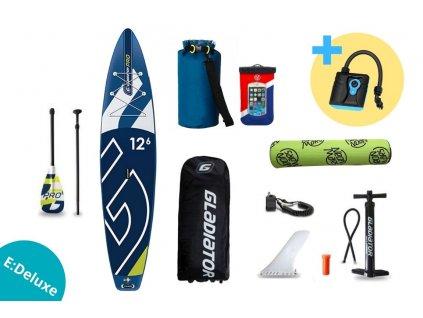 paddleboard gladiator PRO 12,6 touring set edeluxe