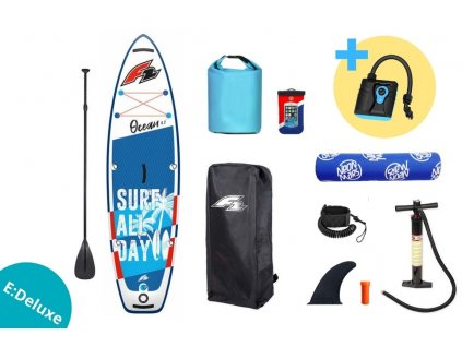 paddleboard f2 ocean boy 9 2 blue set edeluxe