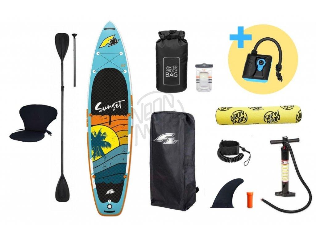 paddleboard f2 sunset 11 8