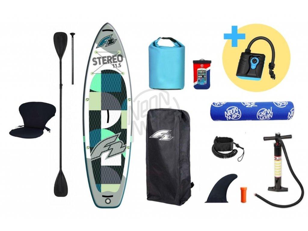 paddleboard f2 stereo grey 11 5