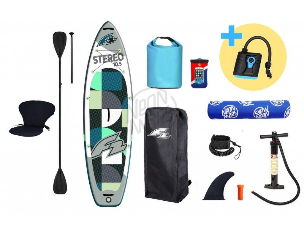 paddleboard f2 stereo grey 10 5