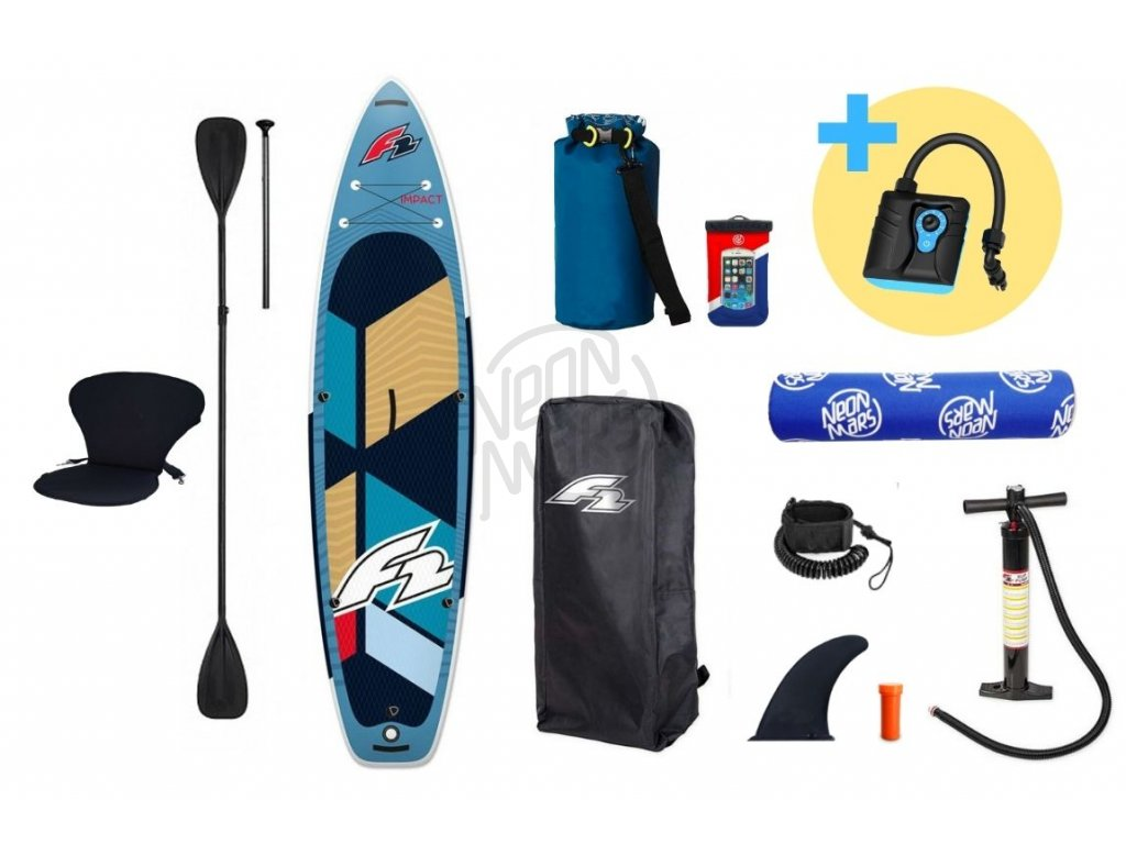paddleboard f2 impact turquise 10 8