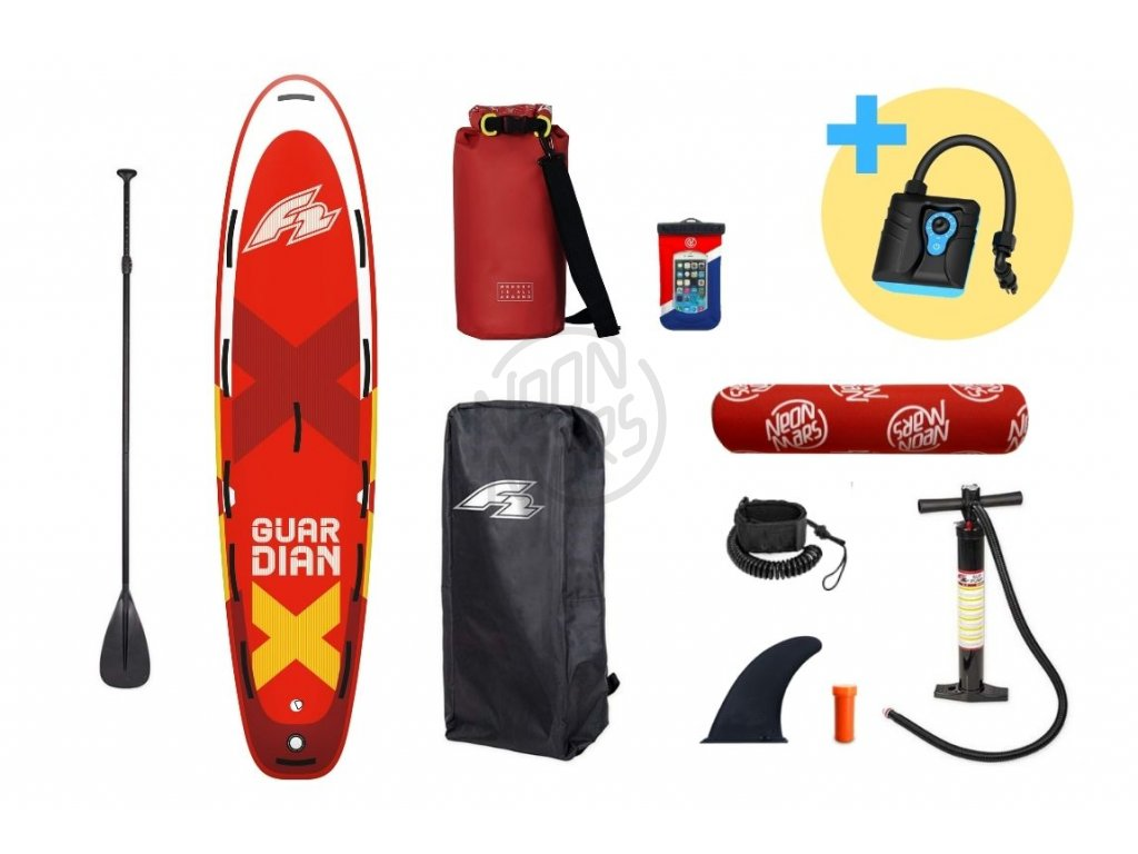 paddleboard f2 guardian red 11 8