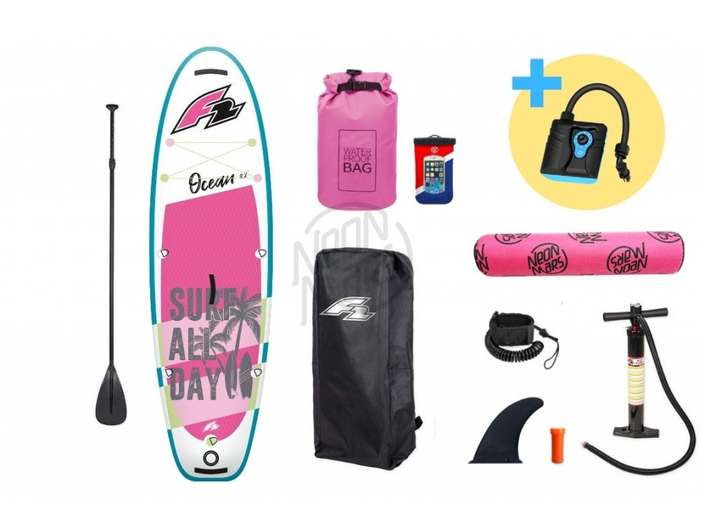 paddleboard f2 ocean girl 9 2 pink