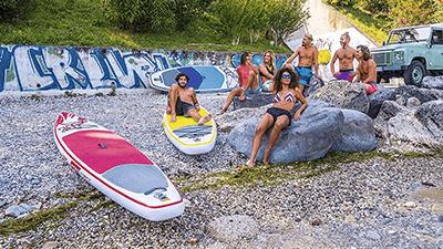 Vezmi SUP na plecia - výhody a nevýhody nafukovacieho paddle boardu