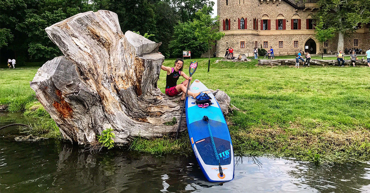 SUP expedícia na rieke Dyje