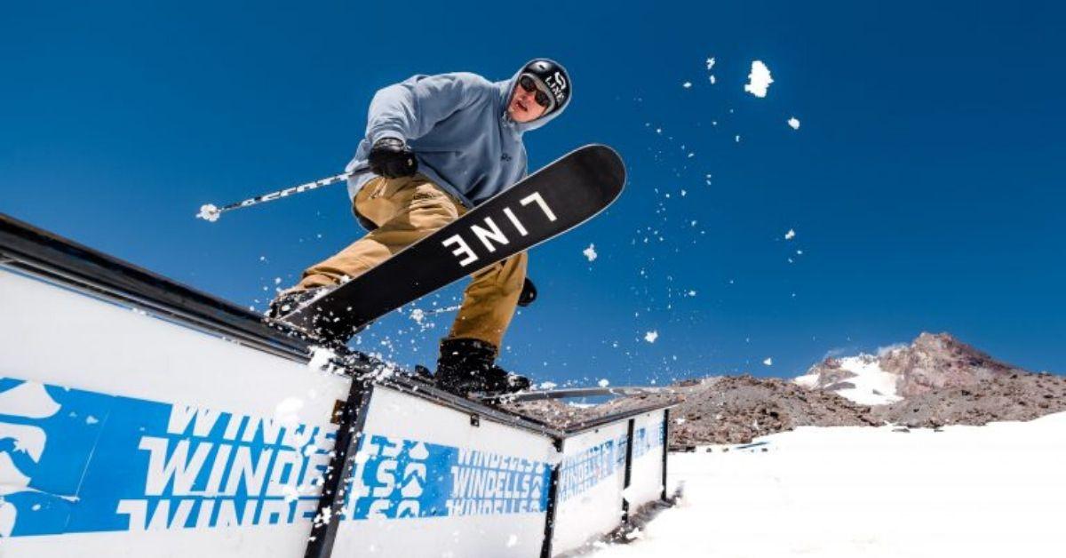 Objav lyže LINE - Ako sa lyžovanie stalo zábavou