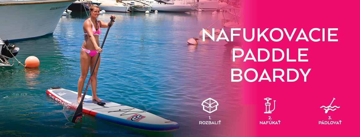 SUPer výber nafukovacích paddleboardov
