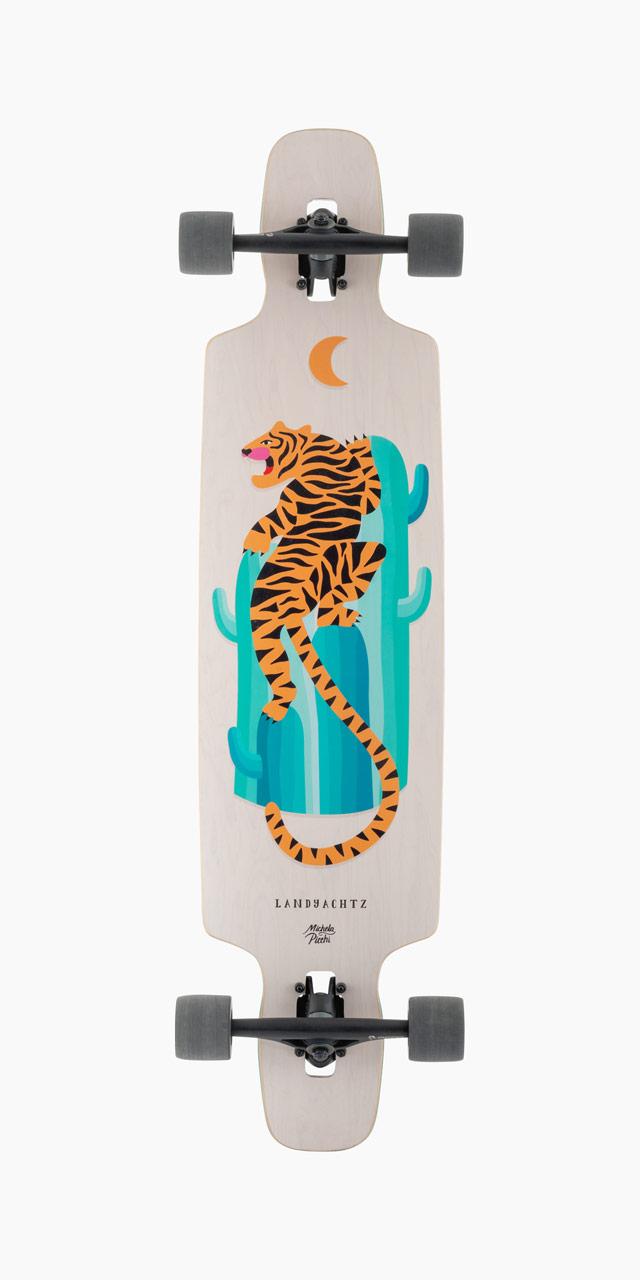 Longboard-Landyachtz-Drop-Carve-40-Desert-Tiger-zo-spodu