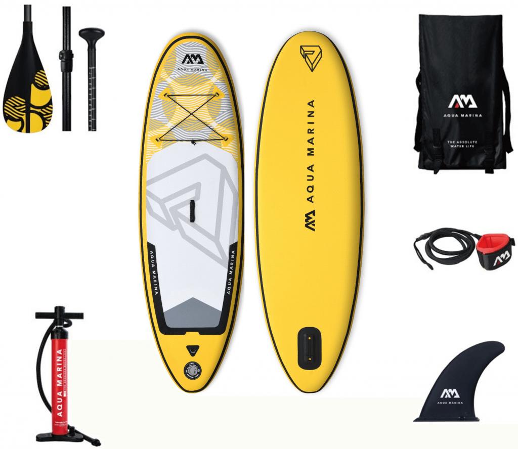 detsky paddleboard aqua marina vibrant