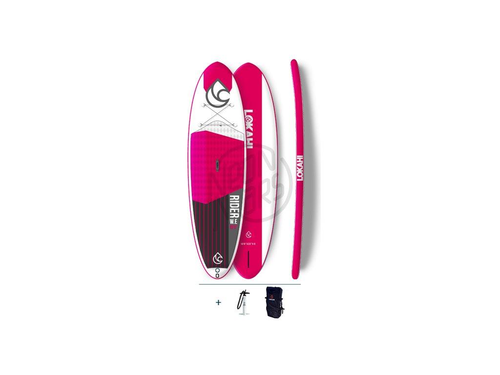 SUP Lokahi We Rider 10 Pink