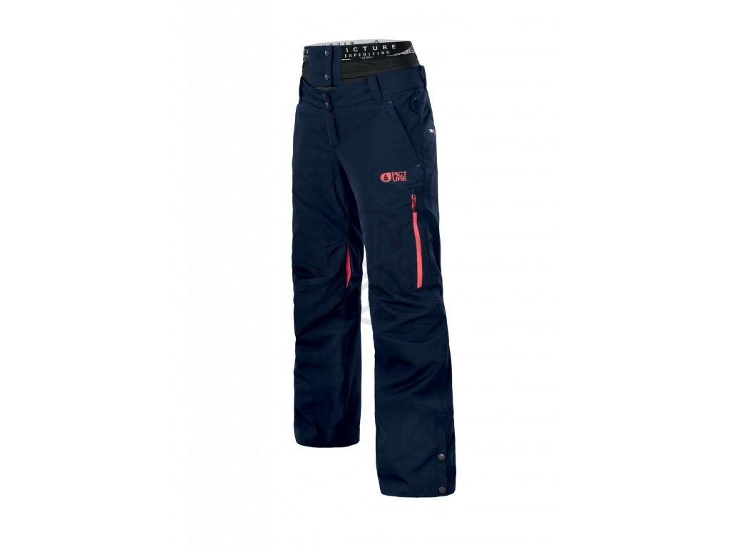 f5ed7d4e9 Dámske lyžiarske a snowboardové tmavomodré nohavice Picture Exa 20 ...