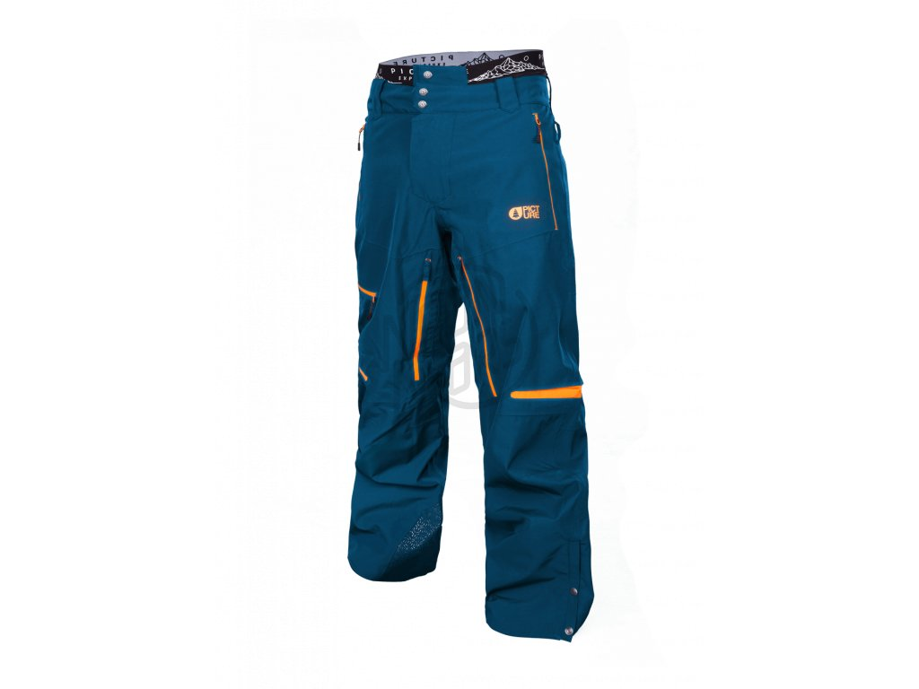 464f48142814 Pánske snowboardové modré nohavice Picture Track 20 15