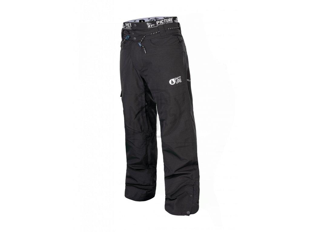 94ef170ea115 Pánske lyžiarske a snowboardové čierne nohavice Picture Under 10 10