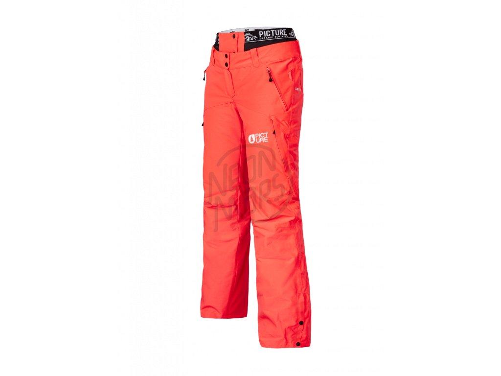 bb54b0ac58b0 Dámske lyžiarske a snowboardové červené nohavice Picture Treva 10 10. 1 z 2