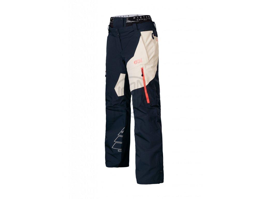 7a96d1d5ff9d Dámske lyžiarske a snowboardové čierno-béžové nohavice Picture Seen 20 15