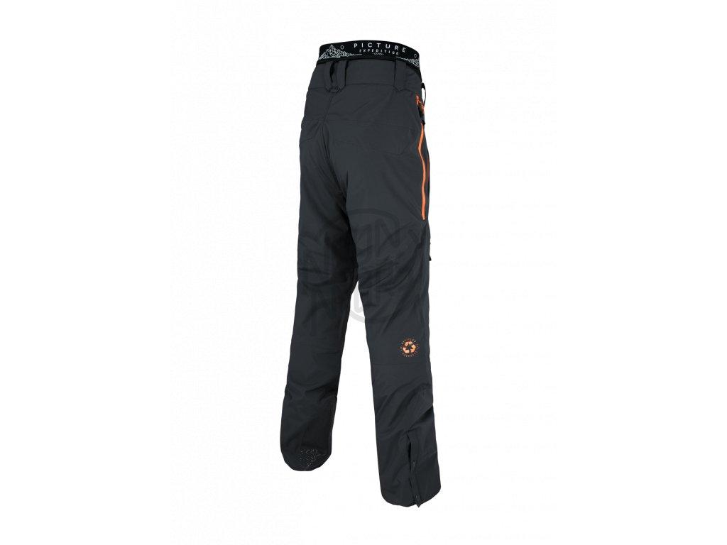 cf32aed97931 Pánske snowboardové čierno-oranžové nohavice Picture Naikoon 20 15 ...