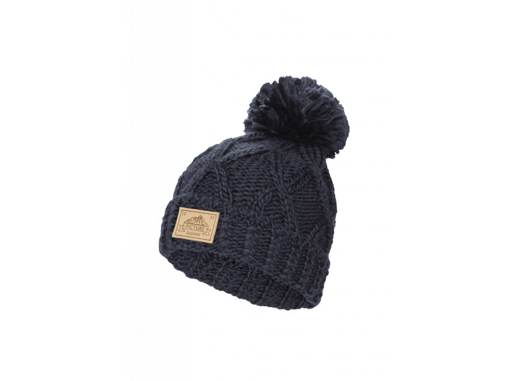 a44c2a8df Dámska zimná čiapka tmavomodrá Picture Haven | E-shop NEONMARS