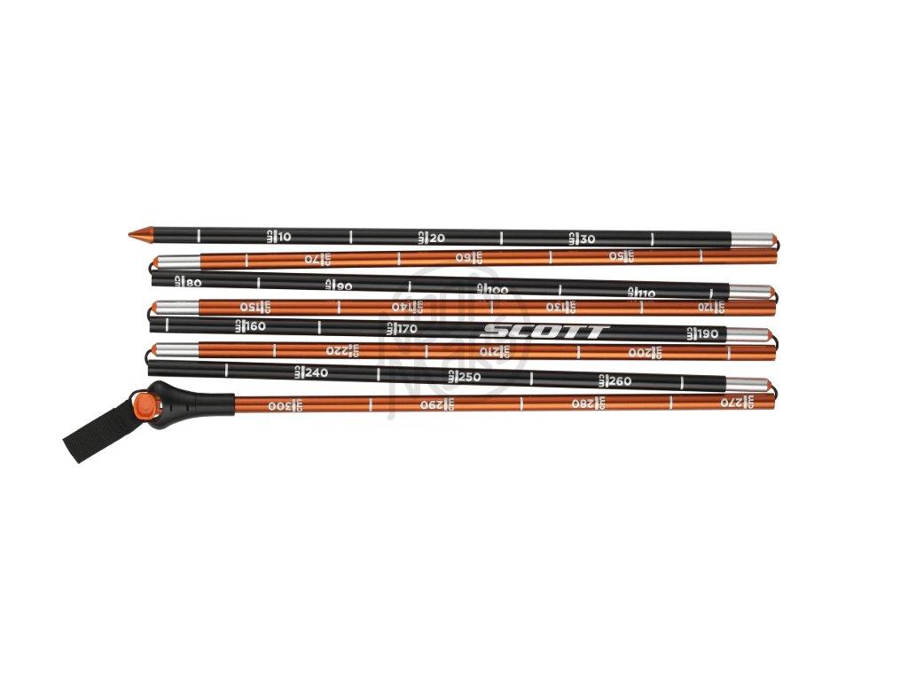lavinova sonda Scott Speed 300 black orange