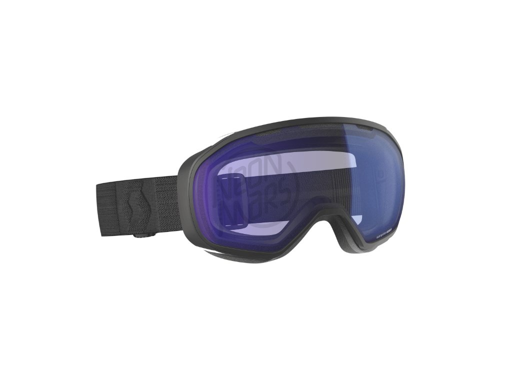 okuliare na lyze a snowboard scott fix black illuminator blue chrome