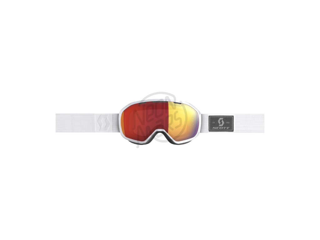 ... okuliare na lyze a snowboard scott fix white enhancer red chrome spredu 30e04cc3119