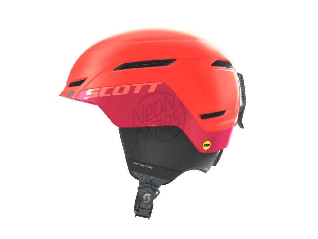 Prilba na lyže a snowboard červená Scott Symbol 2 Plus ... e3e23dac39f