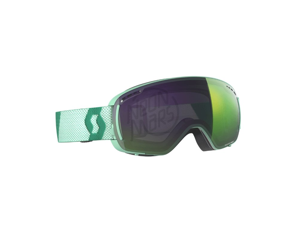 okuliare na lyze a snowboard scott lcg compact mint enhancer green chrome 4dcab802cf2