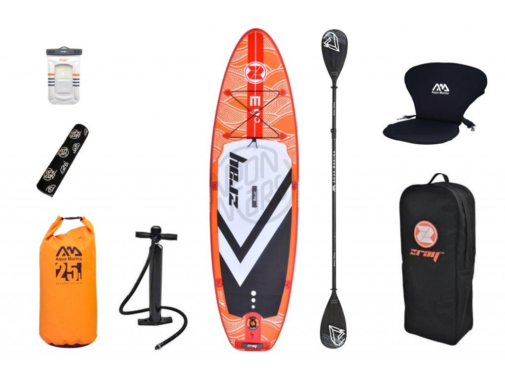 paddleboard wattsup zray e9 akcia set