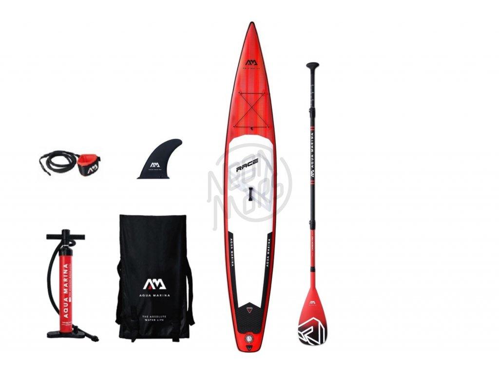paddleboard aqua marina race 14 karbon padlo