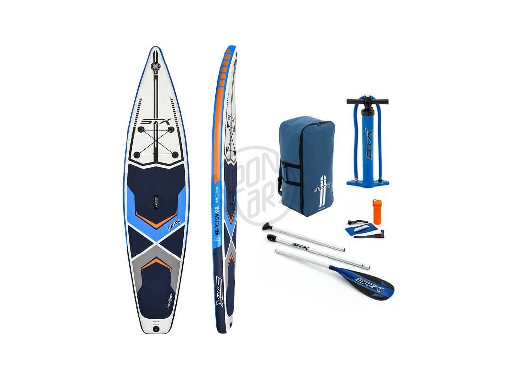 SUP STX Tourer 11 6 Blue Orange komplet