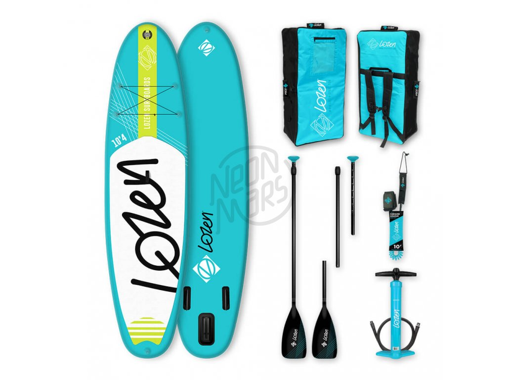 SUP Lozen Allround 10 4 Blue komplet