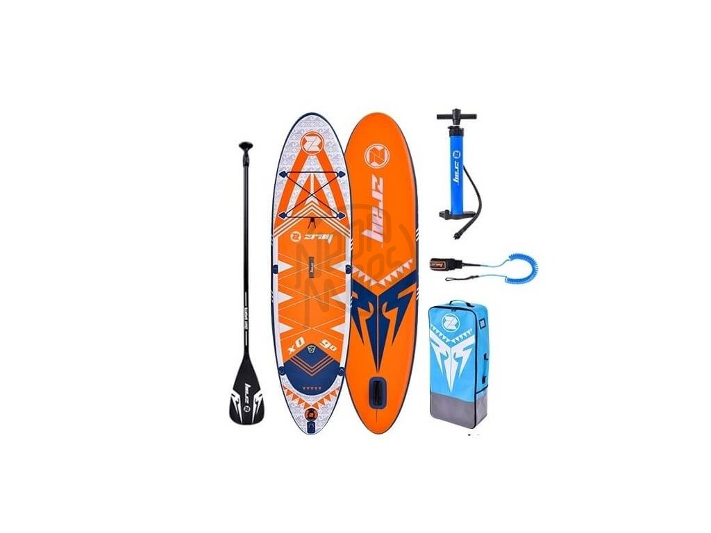 SUP ZRAY X0 X Rider Young paddleboard Neonmars set