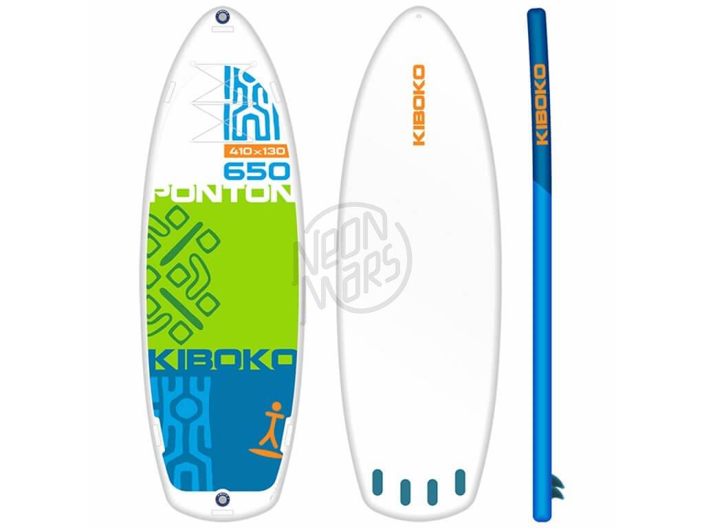 SUP Kiboko Ponton 650 FT 2019 paddleboard neonmars