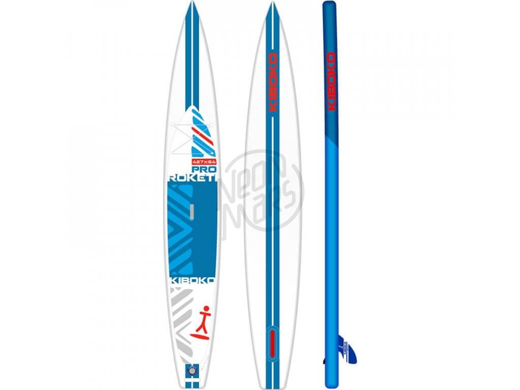 SUP Kiboko Roketi Pro 2019 paddleboard neonmars