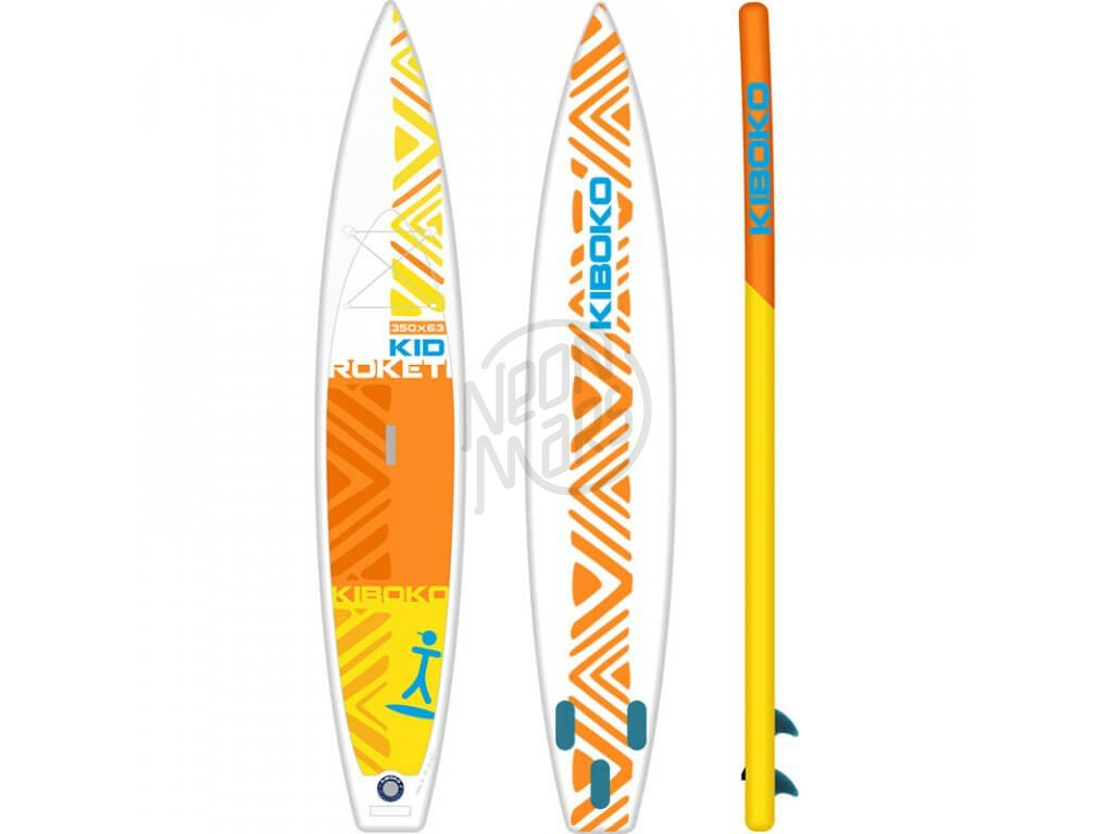 SUP Kiboko Roketi Kid 210 FT 2019 paddleboard neonmars