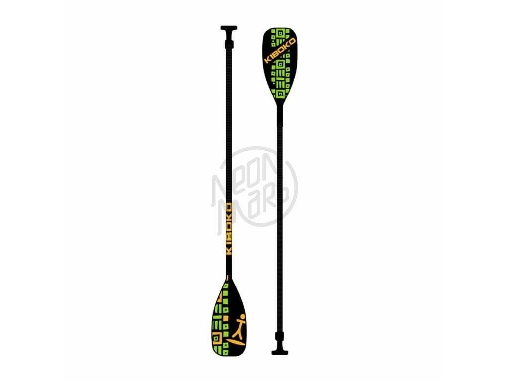 Padlo Kiboko karbonove s plastovym listom 2019 paddleboard neonmars