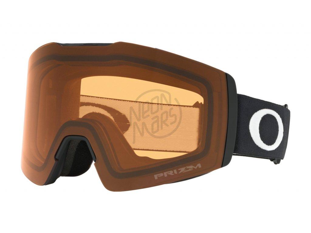 lyziarske-okuliare-oakley-fall-line-xm-matte-black