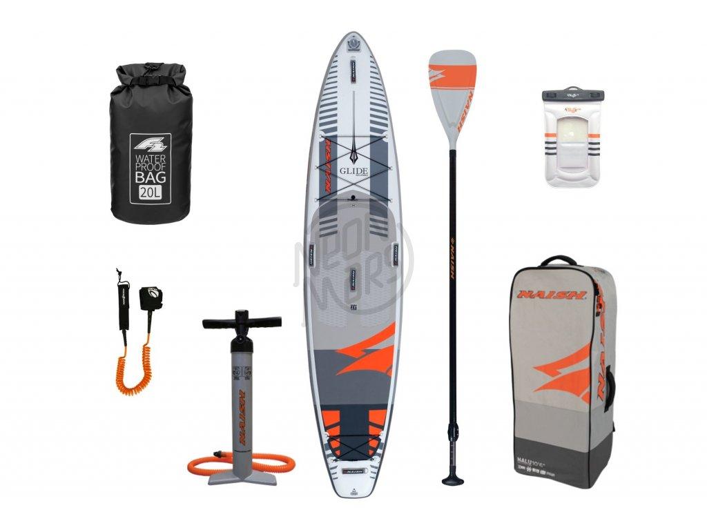 Nafukovací paddleboard Naish Glide 12'0'' X34 Fusion