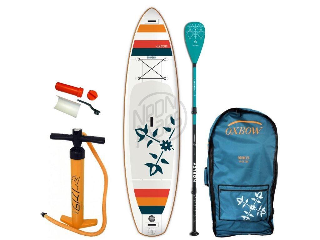 paddleboard oxbow discover air 11 so sklolaminatovym padlom aztron
