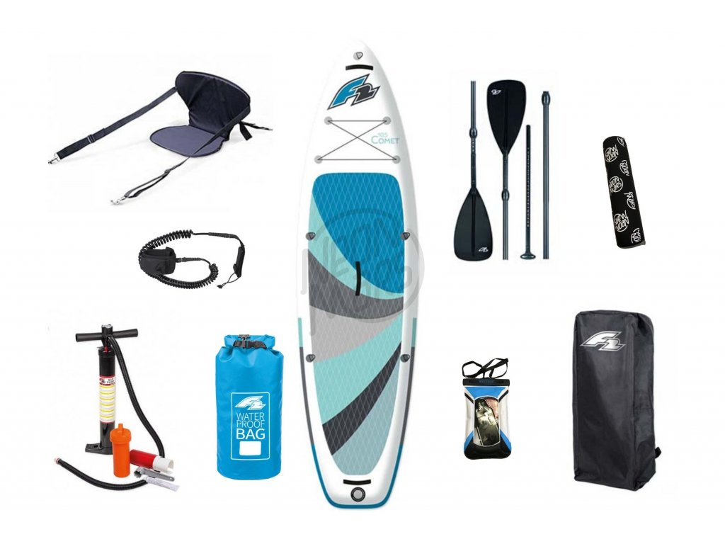 paddleboard f2 comet family combo set