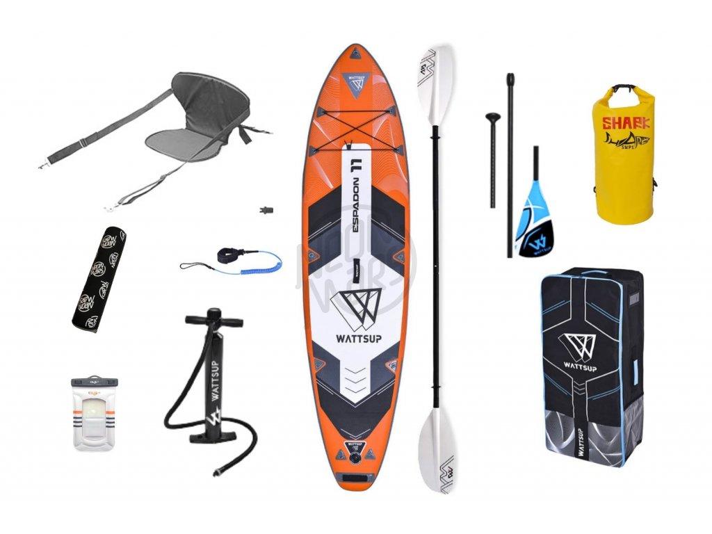 nafukovaci paddleboard wattsup espadon 11