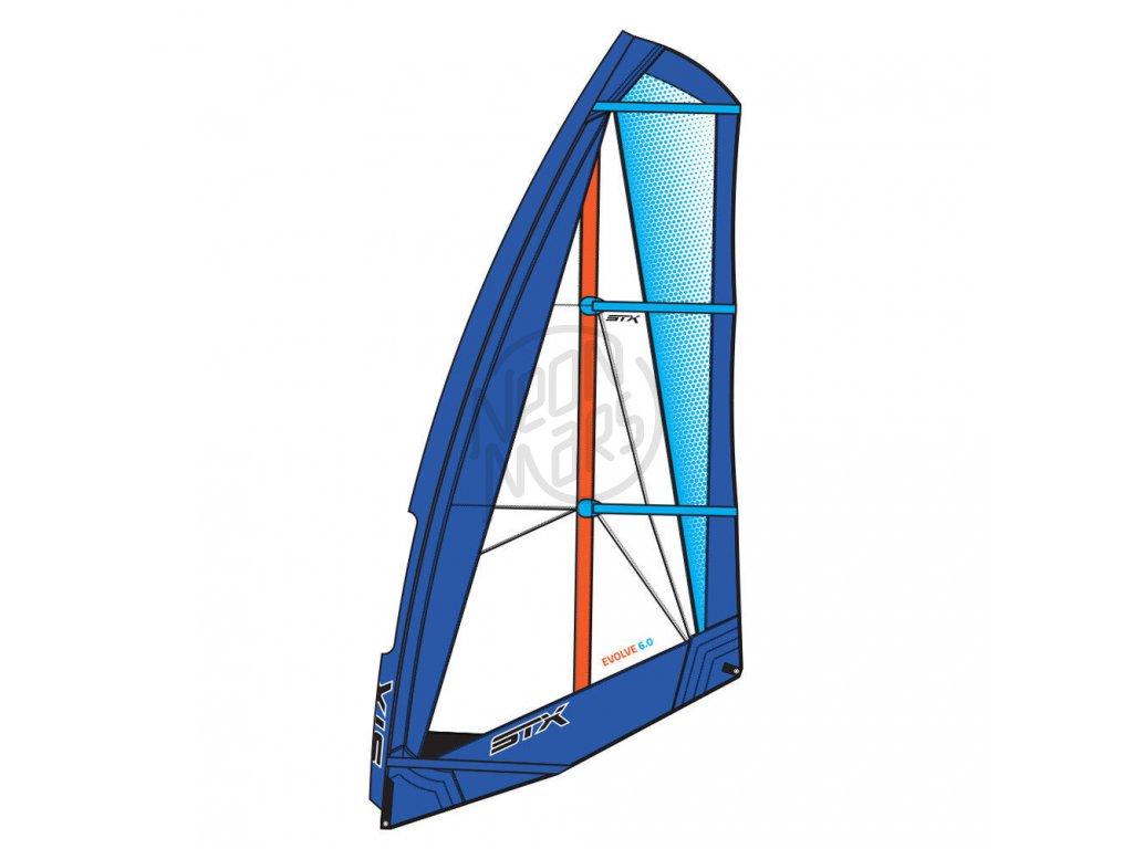 windsurfova plachta f2 evolve