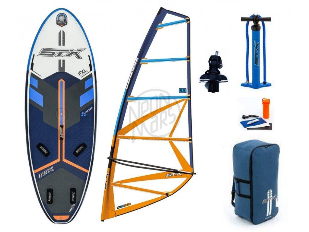 windsurfovy set stx freeride 250 HD20