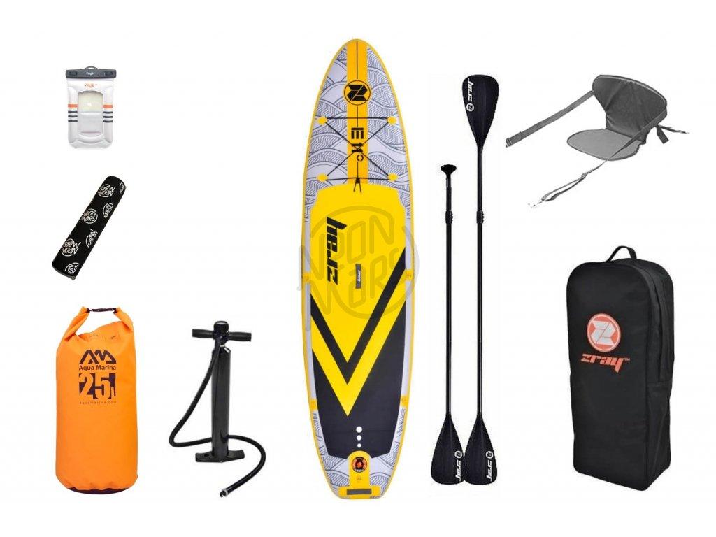 paddleboard zray e11 combo set
