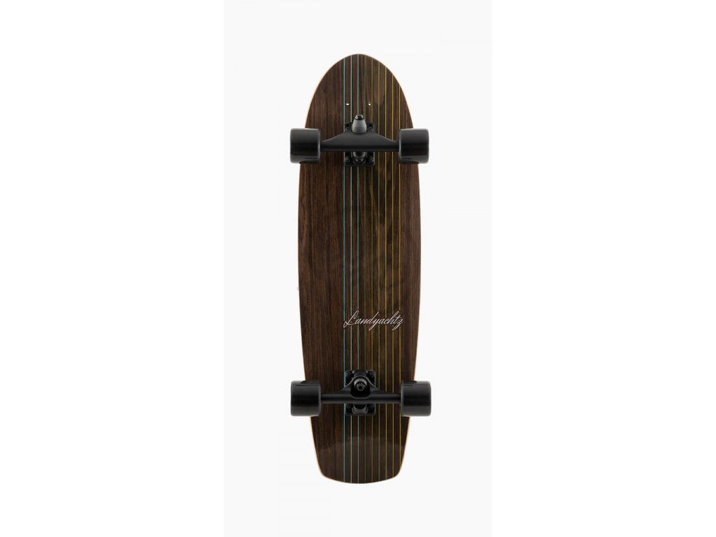 surfskate landyachtz Buuter Walnut WEB Graphic