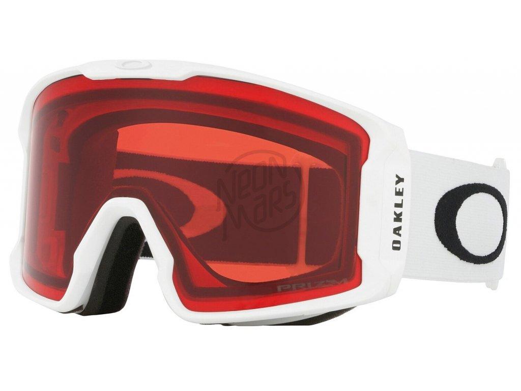 Okuliare Oakley Line Miner XL Matte White Prizm Rose
